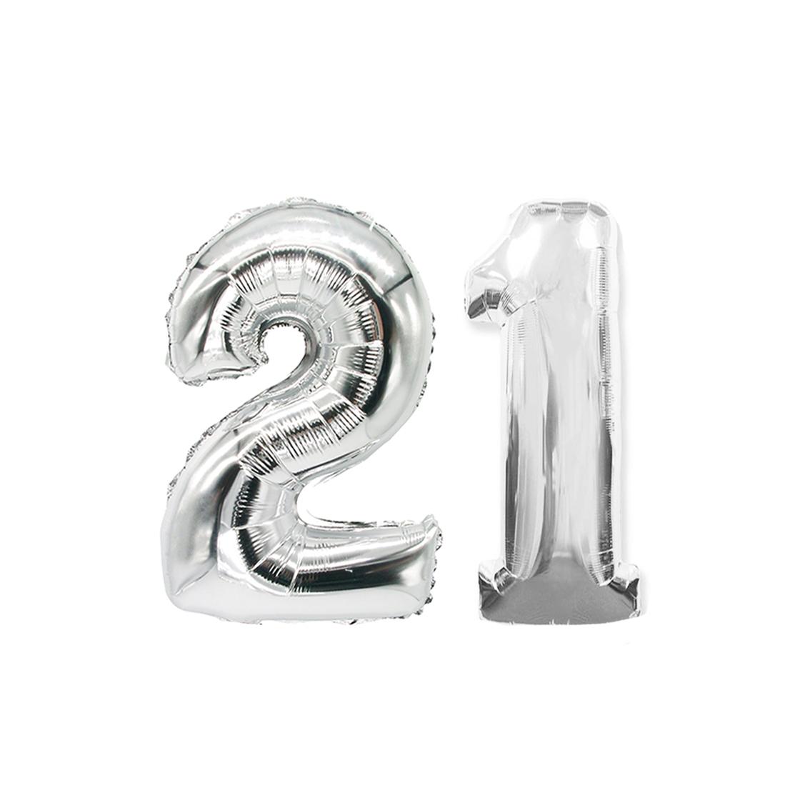 21 zilver