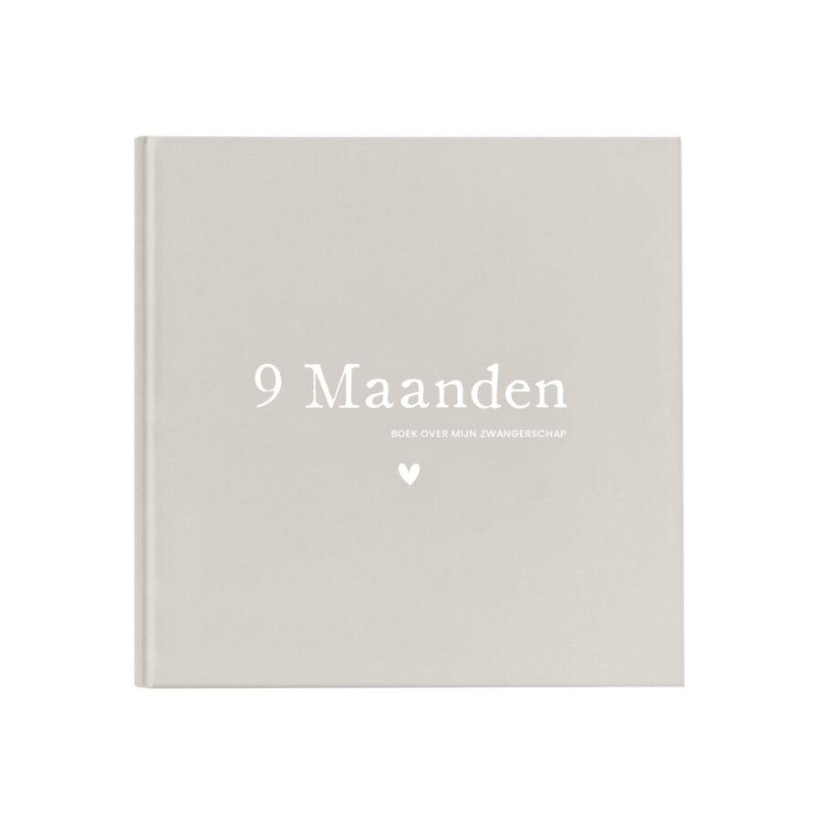 Zwanger 9 Maanden invulboek Original Linnen