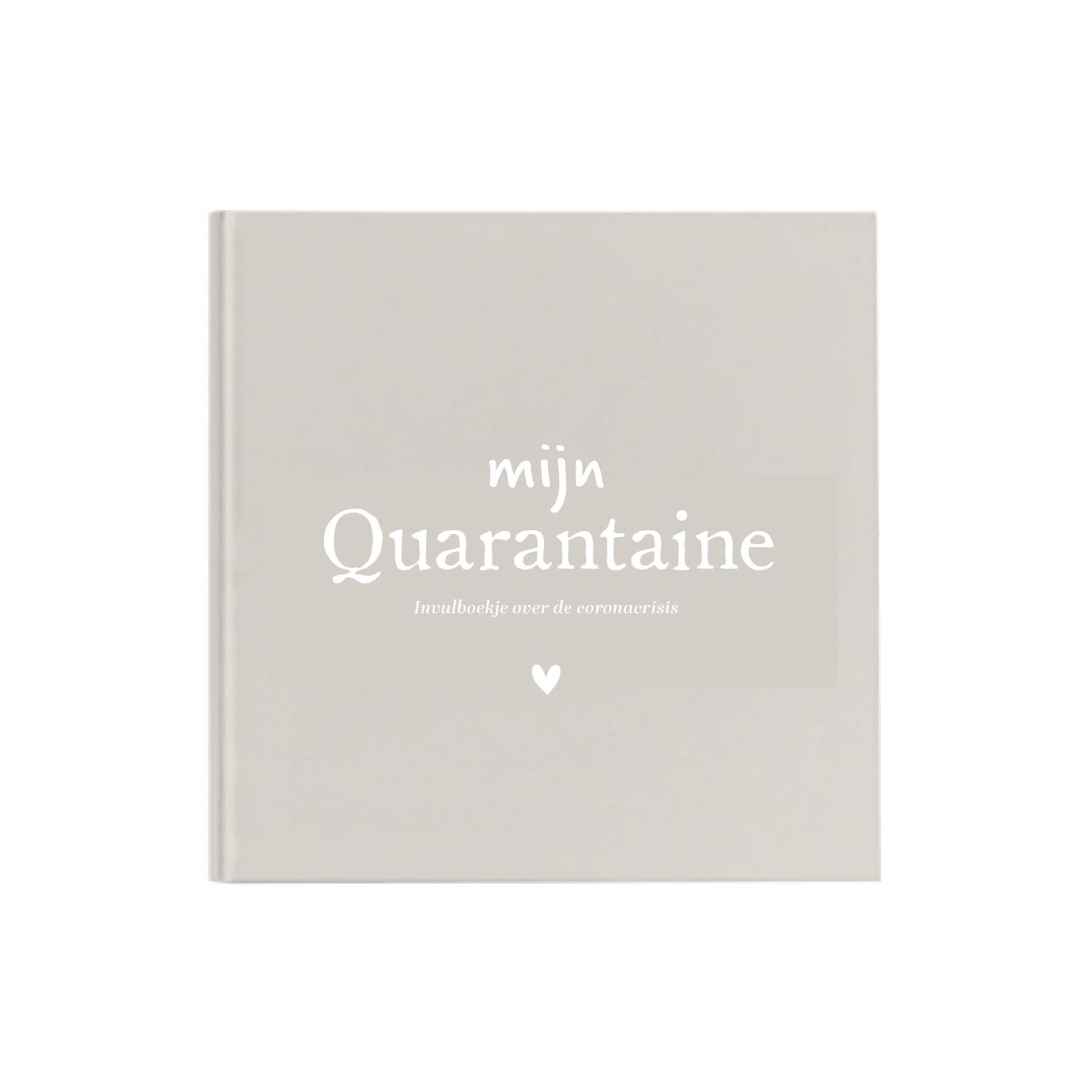 Quarantaine cover Linnen